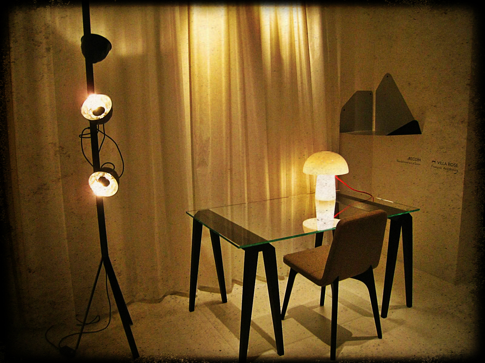 ligne roset trepied floor lamp floor matttroy. Black Bedroom Furniture Sets. Home Design Ideas